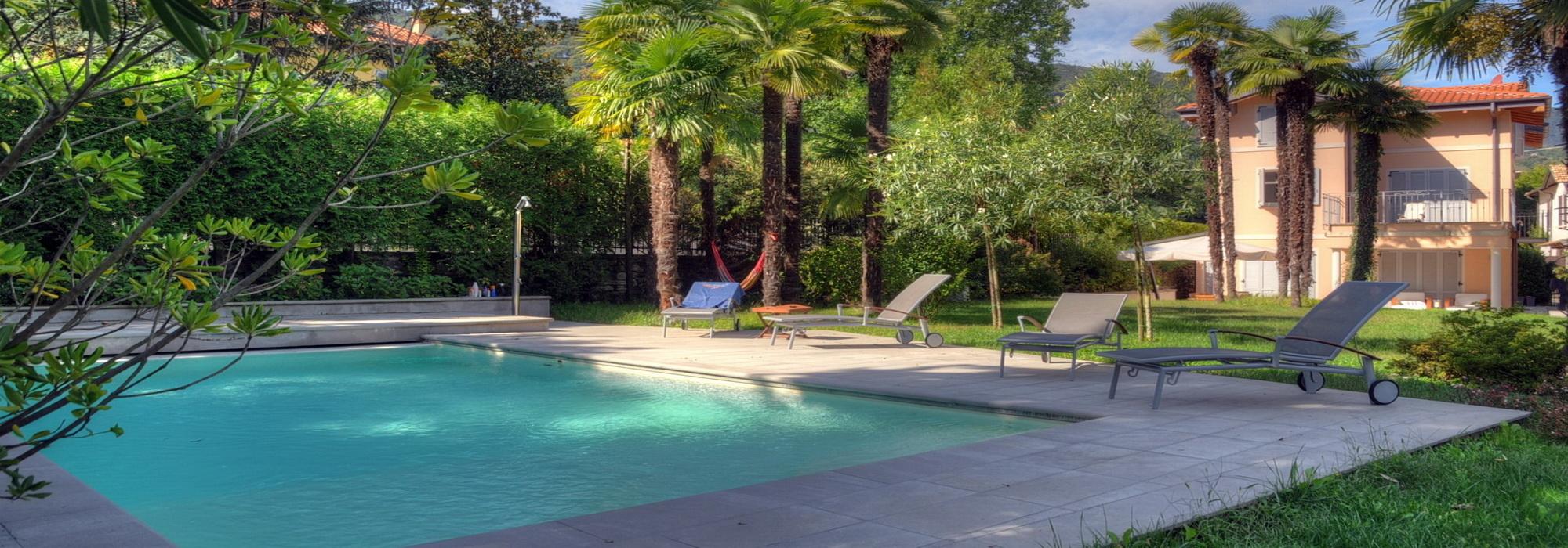 Stresa Città – Villa con parco e piscina